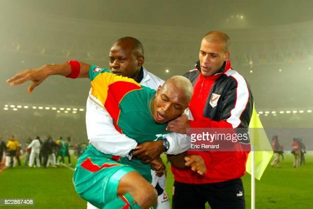 Colere D'El Hadji DIOUF Tunisie / Senegal CAN 2004