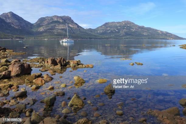 Coles Bay in Tasmania Australia