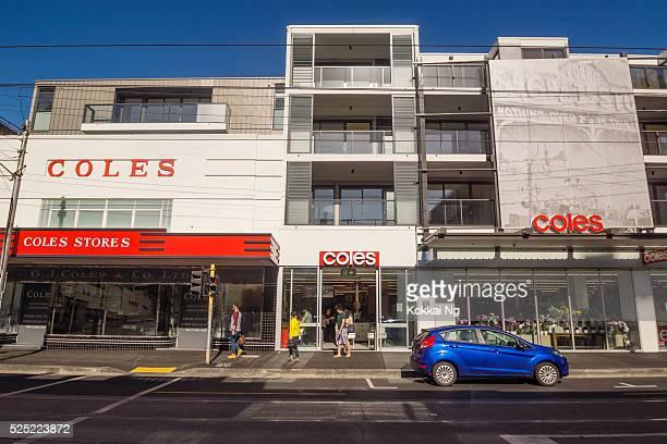 Coles Supermarket in Collingwood