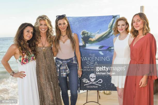 Colet Abedi AnnaLynne McCord Kim DeJesus Ashely Bell and Briana Evigan attend 'The Awakening Sea' Launch Party By Rowena Patterson on July 27 2017 in...