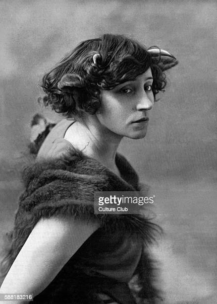 Colette - 1906 as Le Petit Faune in Le Desir, La Chimere et lAmour at theatre Mathurins. Her performance caused a scandal. Very revealing costume and...