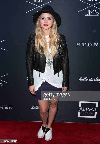 Colette Carr attends Matt Sarafa and Jonathan Marc Stein's new 'Rich' clothing line release and fashion show on March 29 2019 in Los Angeles...