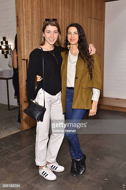 Colette McDermott and Shiva Rose attend Jenni Kayne and Martha Stewart celebrate Martha Stewart Living's 25th Anniversary Issue at Jenni Kayne...