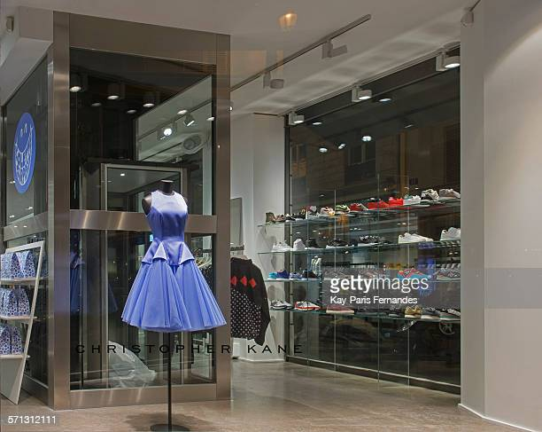 Colette Paris window display 2015 as Part of the World Fashion Window Displays on March 20 2015 in Paris France