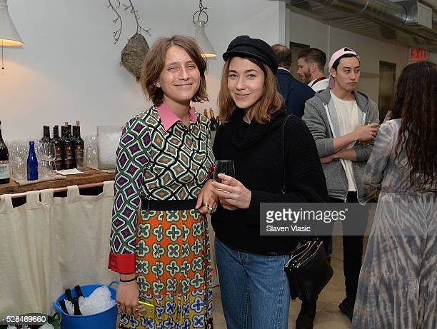 Colette Rose McDermott and Beatrice Helman attend the Floral Salon celebration by Garden Collage and Phaidon on May 4 2016 in New York City