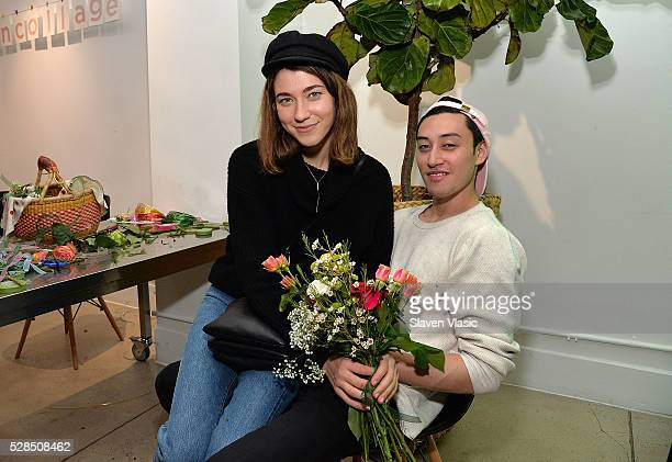 Colette Rose McDermott attend the Floral Salon celebration by Garden Collage and Phaidon on May 4 2016 in New York City