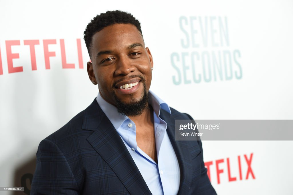 Coley Mustafa Speaks attends the premiere of Netflix's 'Seven Seconds' at The Paley Center for Media on February 23, 2018 in Beverly Hills, California.