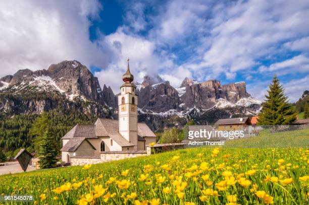 Colfosco, Dolomite Alps, Italy, Europe