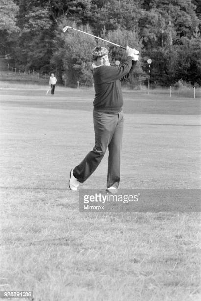 Colgate World Match Play Championship Wentworth Club Virginia Water 7th October 1977 Ray Floyd wearing checked cap