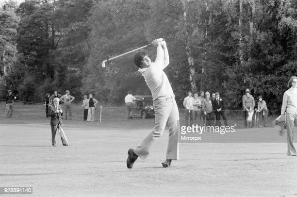Colgate World Match Play Championship Wentworth Club Virginia Water 7th October 1977 A young Seve Ballesteros aged 20 years old