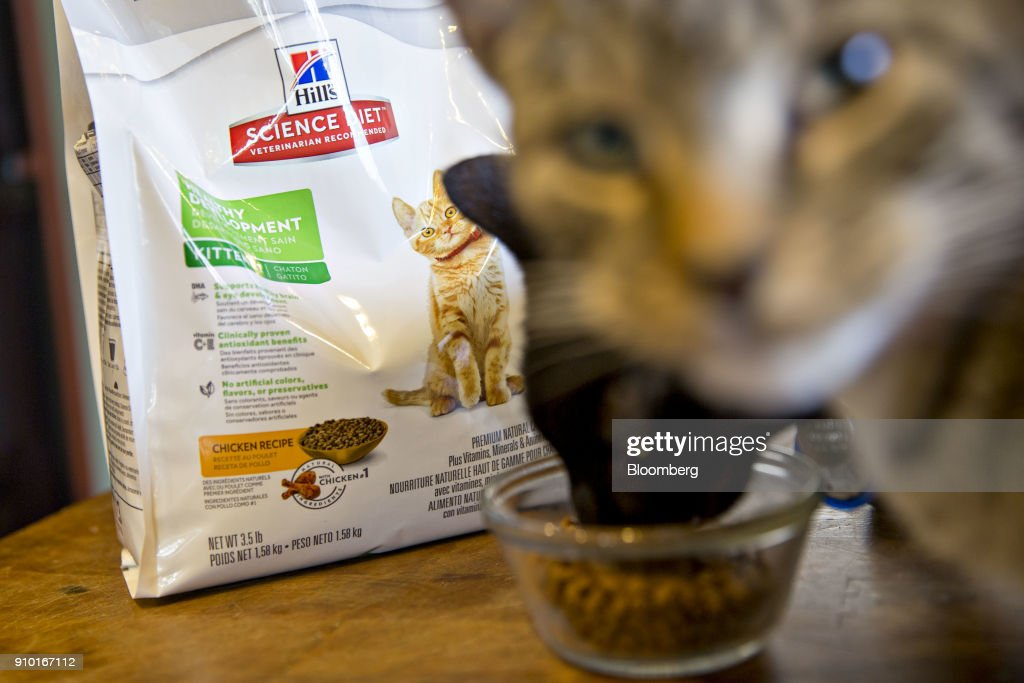 Colgate Palmolive Co Hill S Brand Cat Food Is Arranged For A