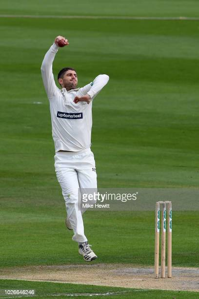 Colin Ackermann of Leicestershire in action during the Specsavers County Championship Division Two between Sussex and Leicestershire at The 1st...