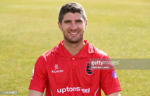 Colin Ackermann T20 captain of Leicestershire CCC pictured during the Leicestershire CCC Photocall at Grace Road on April 03 2019 in Leicester England