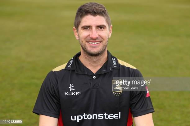 Colin Ackermann, T20 captain of Leicestershire CCC pictured during the Leicestershire CCC Photocall at Grace Road on April 03, 2019 in Leicester,...