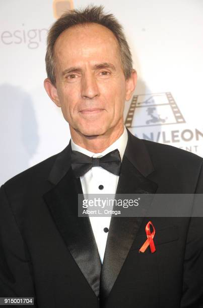 Colin Anderson arrives for Society of Camera Operators Lifetime Achievement Awards held at Loews Hollywood Hotel on February 3 2018 in Hollywood...