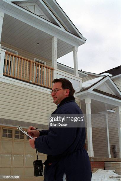 Colin Best is a selfemployed property appraiser and a member of the Appraisal Institute of Canada He is seen in new housing subdivision under...