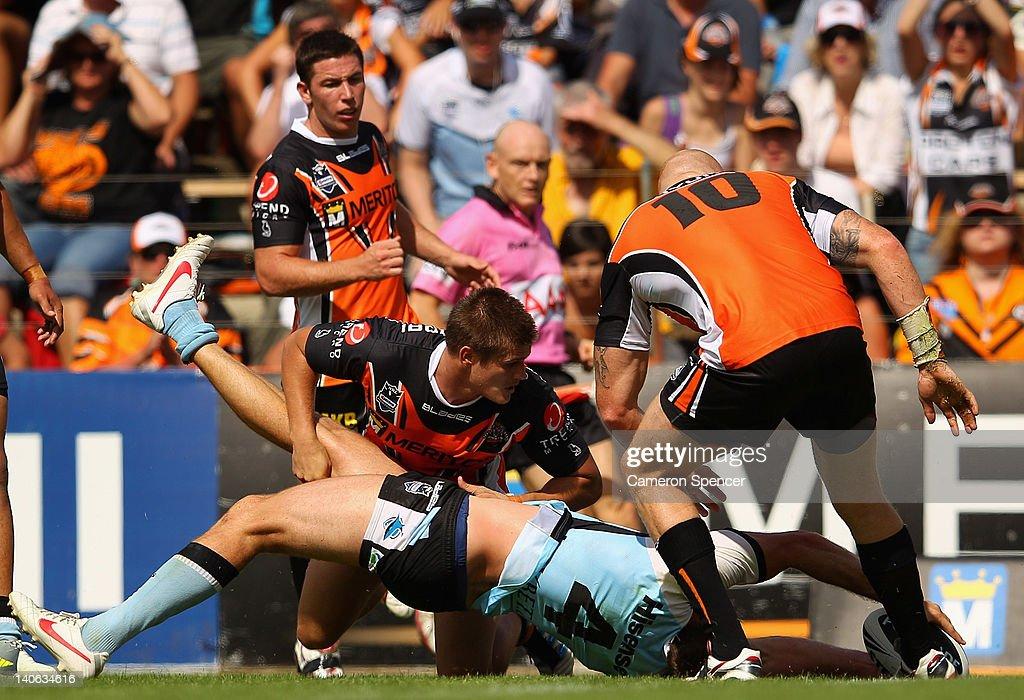 NRL Rd 1 - Wests Tigers v Sharks