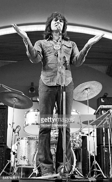 Colin Blunstone performs on the at Popgala in Vliegermolen TV show Voorburg Netherlands on March 10 1973