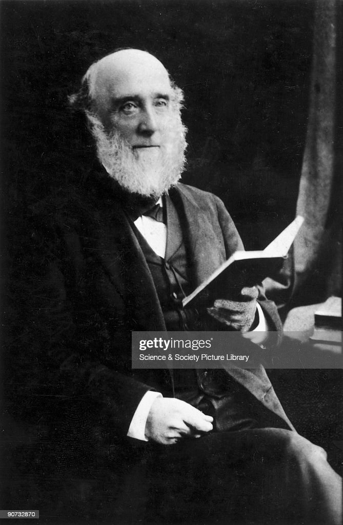 Colin Brown, harmonium designer, late 19th century. : News Photo