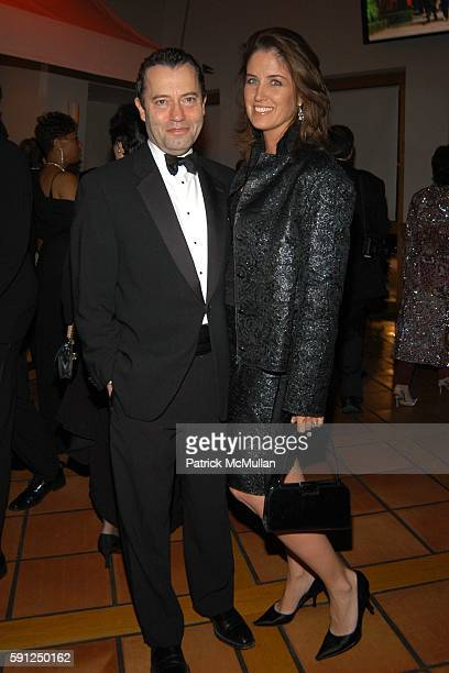 Colin Callender and Elizabeth Callender attend Vanity Fair Oscar Party at Morton's Restaurant on February 27 2005 in Los Angeles California