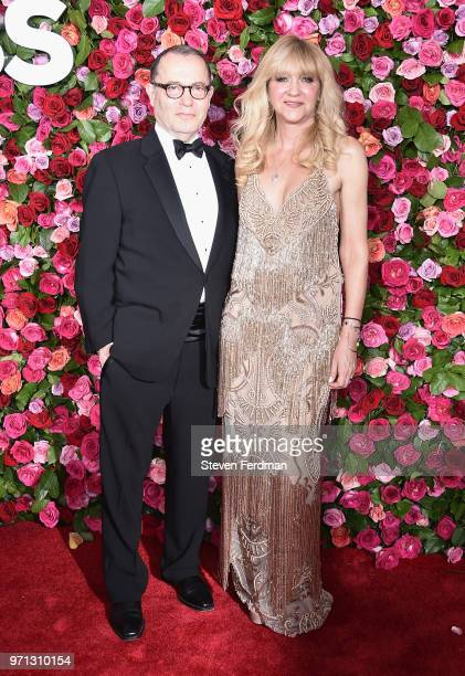 Colin Callender and Sonia Friedman attend the 72nd Annual Tony Awards on June 10 2018 in New York City