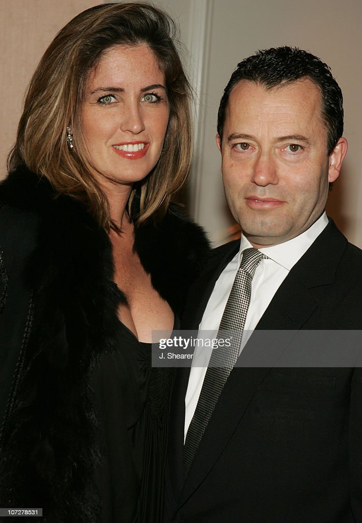 Colin Callender, of HBO, with wife Elizabeth during Covenant House California's Youth Awards Dinner Gala Honoring Charlize Theron and Sharon Osbourne at The Beverly Hills Hotel in Beverly Hills, California, United States.