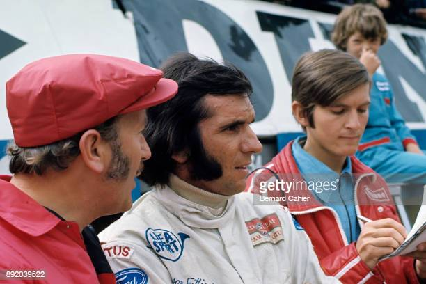 Colin Chapman Emerson Fittipaldi Grand Prix of Monaco Circuit de Monaco 23 May 1971 Colin Chapman with Emerson Fittipaldi