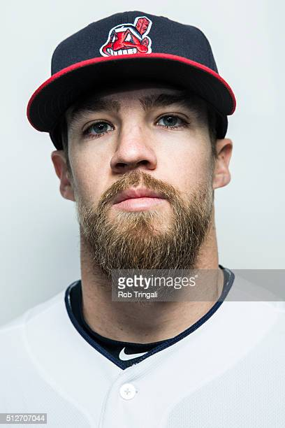 Colin Cowgil of the Cleveland Indians poses for a portrait during photo day at the Cleveland Indians Development Complex on February 27 2016 in...