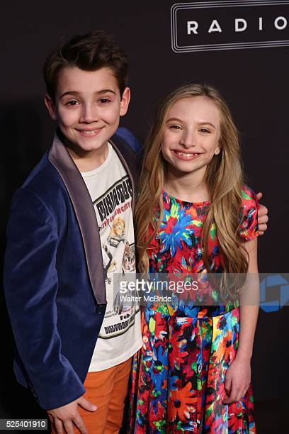 Colin Critchley and Emily Rosenfeld attend the Opening Night performance of 'New York Spring Spectacular' at Radio City Music Hall on March 26 2015...