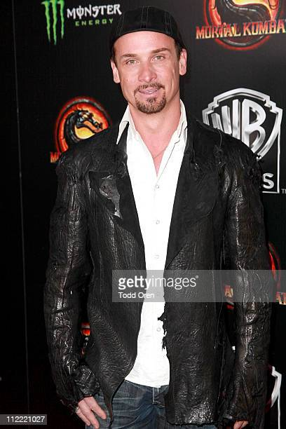 """Colin Cunninghame attends the """"Mortal Kombat Legacy"""" digital series premiere celebration at Saint Felix II on April 14, 2011 in Hollywood, California."""