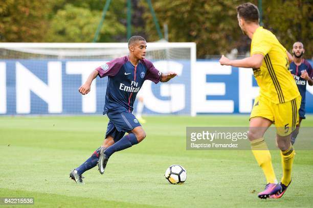 Colin Dagba of Paris Saint Germain during the National 2 match between Paris Saint Germain B and Chasselay on September 2nd 2017 in Paris France