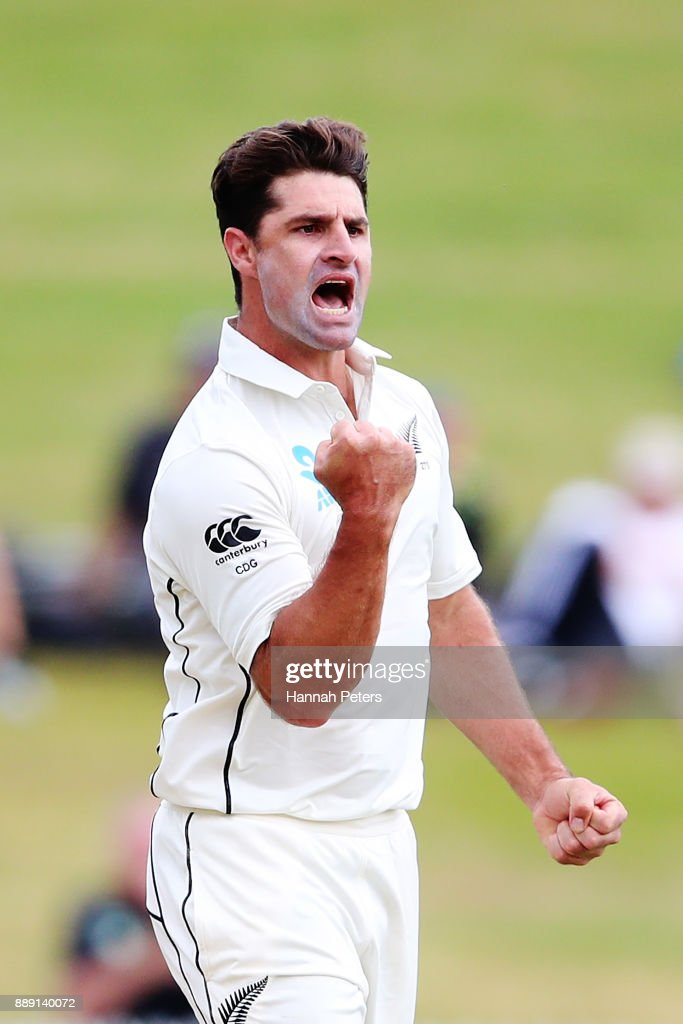 New Zealand v West Indies - 2nd Test: Day 2 : News Photo