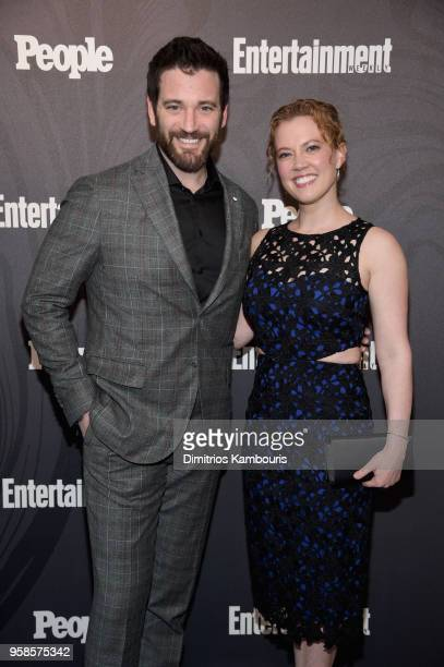 Colin Donnell of Chicago Med/Arrow and Patti Murin of Chicago Med attend Entertainment Weekly PEOPLE New York Upfronts celebration at The Bowery...