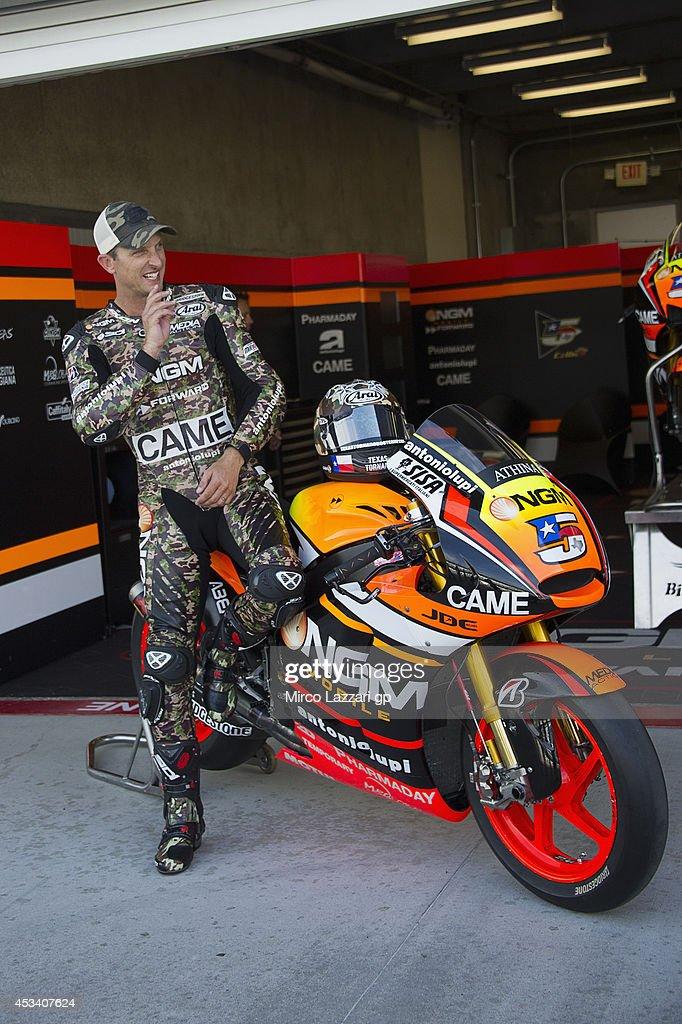 MotoGp Red Bull U.S. Indianapolis Grand Prix - Qualifying : News Photo