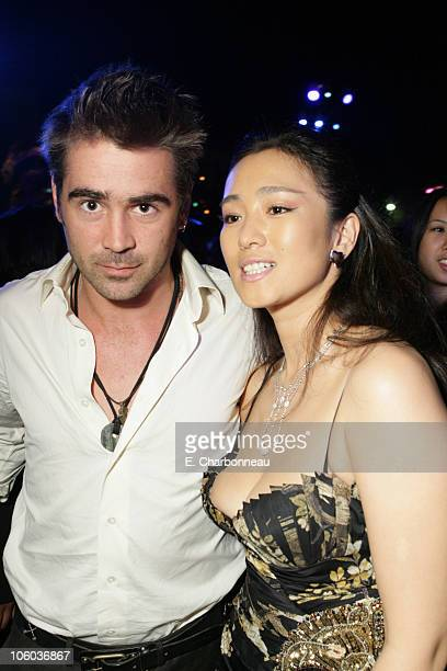 Colin Farrell and Gong Li during Universal Pictures Presents the World Premiere of 'Miami Vice' at Mann Village Theater in Westwood California United...