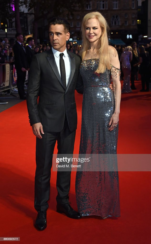 Colin Farrell and Nicole Kidman attend the Headline Gala Screening & UK Premiere of 'Killing of a Sacred Deer' during the 61st BFI London Film Festival on October 12, 2017 in London, England.