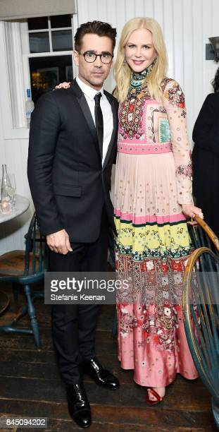 Colin Farrell and Nicole Kidman attend the 'The Killing of a Sacred Deer' premiere party hosted By Grey Goose Vodka and Soho House on on September 9...