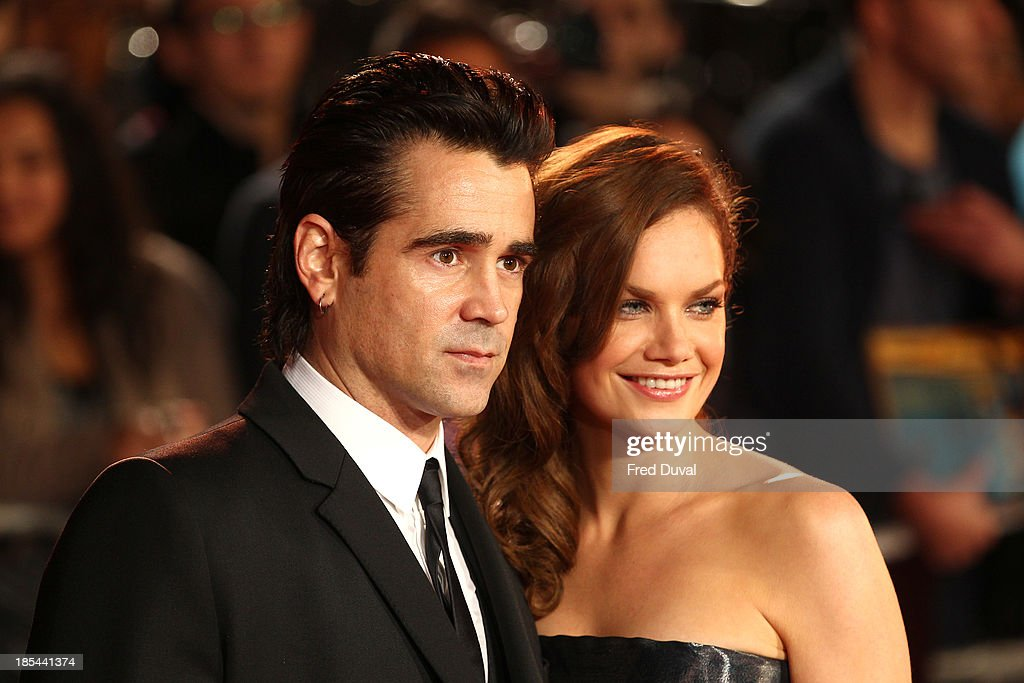 Colin Farrell and Ruth Wilson attend he Closing Night Gala European Premiere of 'Saving Mr Banks' during the 57th BFI London Film Festival at Odeon Leicester Square on October 20, 2013 in London, England.