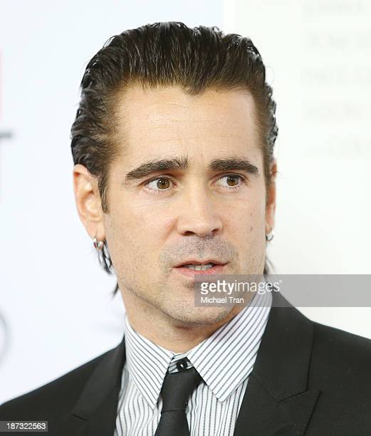 Colin Farrell arrives at the AFI FEST 2013 Saving Mr Banks opening night premiere held at TCL Chinese Theatre on November 7 2013 in Hollywood...