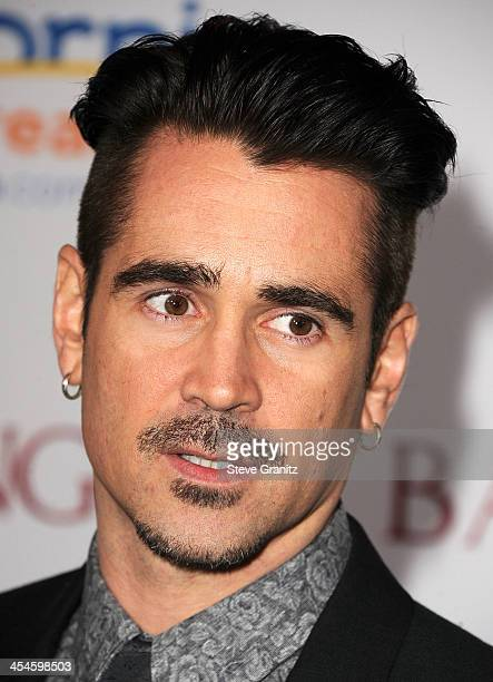 Colin Farrell arrives at the 'Saving Mr Banks' Los Angeles Premiere at Walt Disney Studios on December 9 2013 in Burbank California