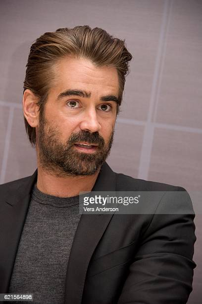 Colin Farrell at the 'Fantastic Beasts and Where to Find Them' Press Conference at the Four Seasons Downtown on November 6 2016 in New York City