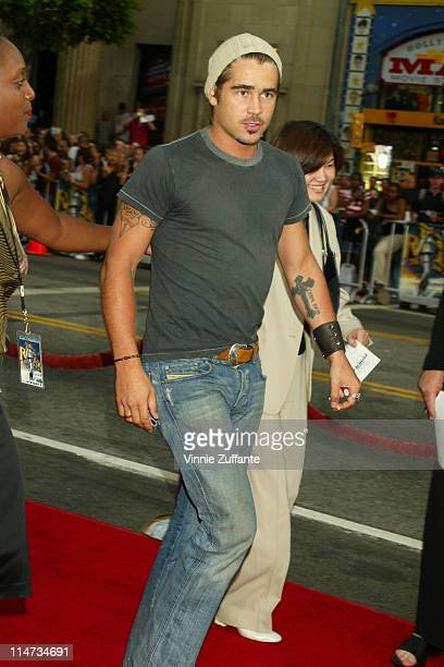 Colin Farrell attending the world premiere of Lara Croft Tomb Raider The Cradle of Life at Mann's Chinese Theatre in Hollywood CA 08/21/03