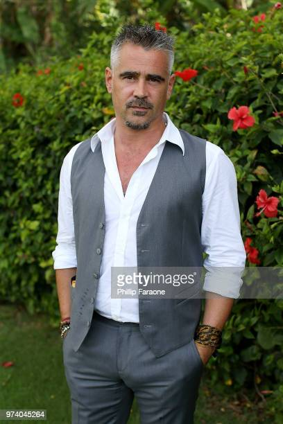 Colin Farrell attends the 2018 Maui Film Festival's Taste of Summer opening party on June 13 2018 in Wailea Hawaii