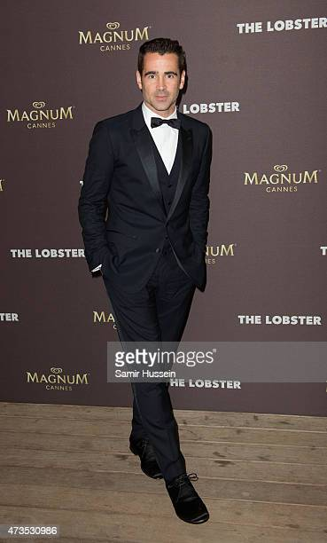 Colin Farrell attends the after party for 'The Lobster' during the 68th annual Cannes Film Festival on May 15 2015 in Cannes France