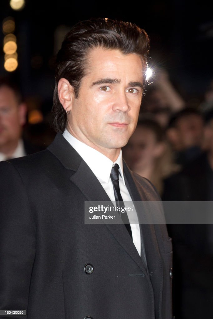 Colin Farrell attends the Closing Night Gala European Premiere of 'Saving Mr Banks' during the 57th BFI London Film Festival at Odeon Leicester Square on October 20, 2013 in London, England.