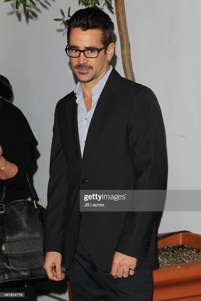 Colin Farrell attends The Hollywood Foreign Press Association (HFPA) And InStyle 2014 Miss Golden Globe Announcement/Celebration at Fig & Olive Melrose Place on November 21, 2013 in West Hollywood, California.