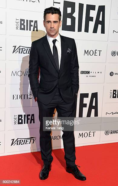Colin Farrell attends the Moet British Independent Film Awards at Old Billingsgate Market on December 6 2015 in London England