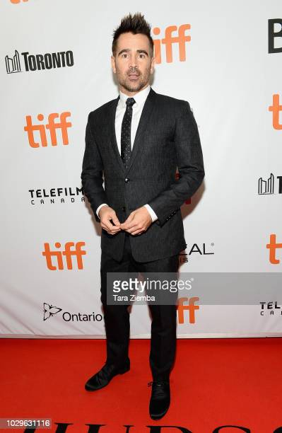 Colin Farrell attends the premiere of 'Widows' during the 2018 Toronto International Film Festival at Roy Thomson Hall on September 8 2018 in Toronto...