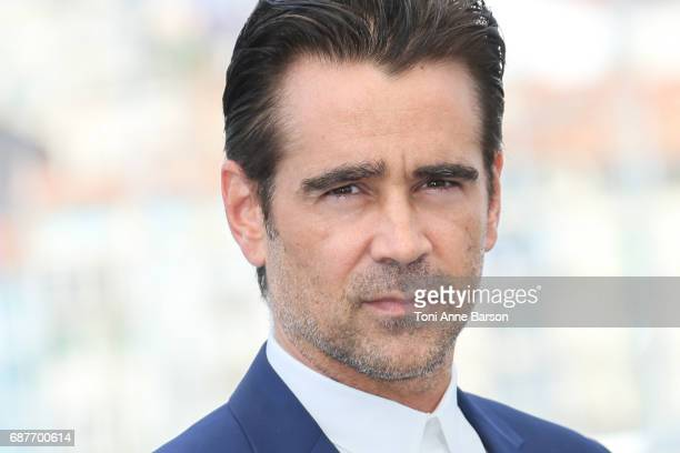 Colin Farrell attends the The Beguiled Photocall during the 70th annual Cannes Film Festival at Palais des Festivals on May 24 2017 in Cannes France