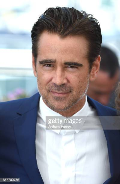 Colin Farrell attends the 'The Beguiled' Photocall during the 70th annual Cannes Film Festival at Palais des Festivals on May 24 2017 in Cannes France